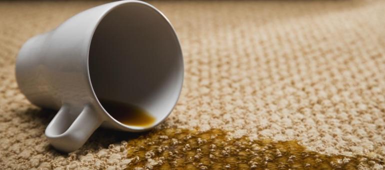 кофе разлит
