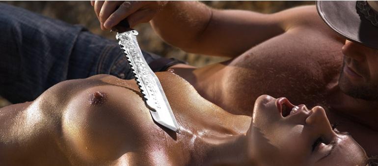 Knife-play
